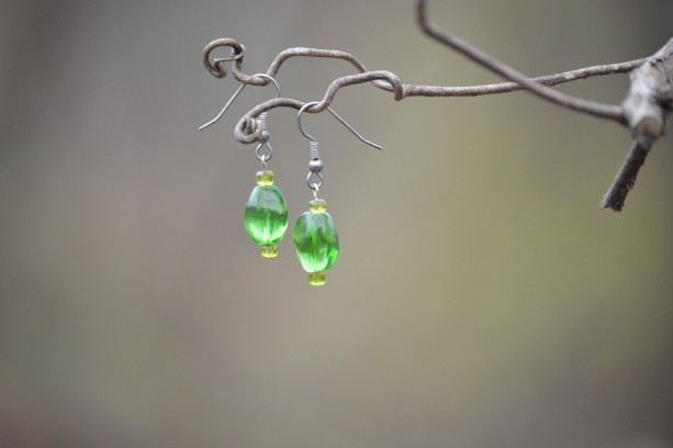 Green Sea Earring