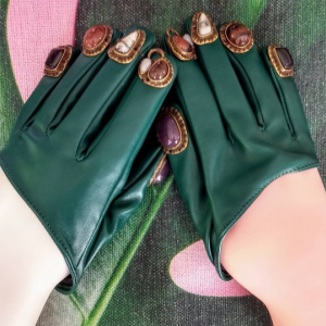 'Fingernail' Gloves. One of a Kind