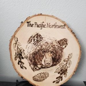 pacific northwest engraved