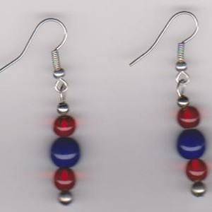Fireworks Pierced Earrings