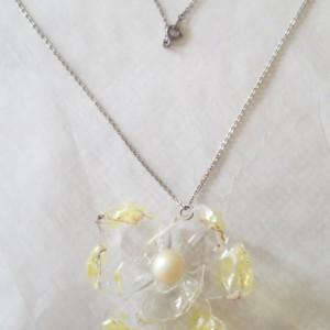 Bottle Flower Necklace
