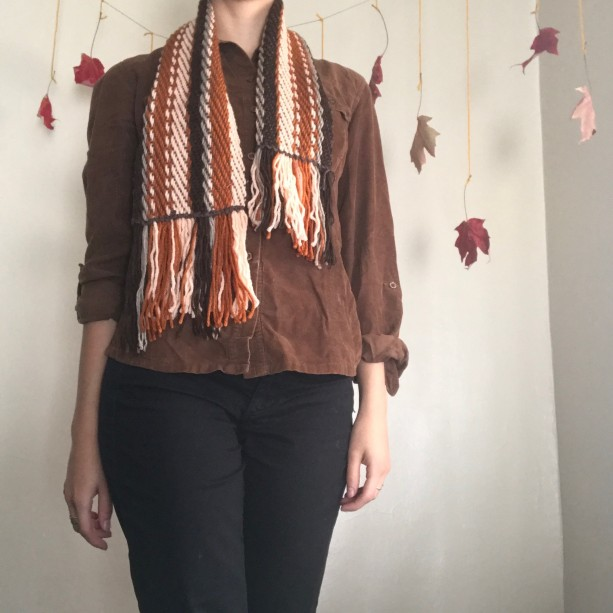 Copper Sunset Woven Scarf