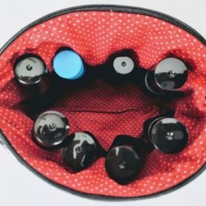 Small Essential Oil Bag, Roller Ball Bag, Essential Oil Case, Essential Oil Storage, Gift for Her