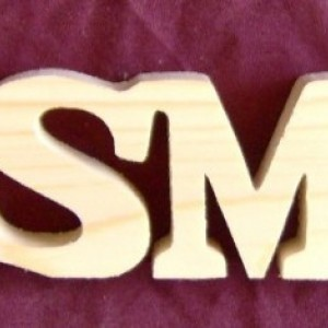 Wooden Signs USMC, SEMPERFI and OORAH