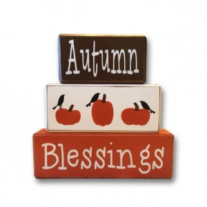 Autumn Decor - pumpkins - Autumn - wood sign