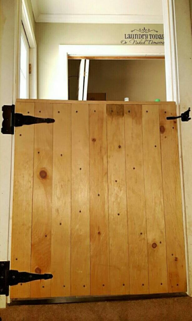Half Barn Door Gate Aftcra