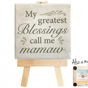 Mamaw mini canvas magnet. Mamaw. Mini canvas art. Mamaw mini canvas. Grandchildren. Gift for grandma.