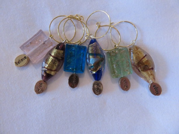 Wine Glass Charms #8