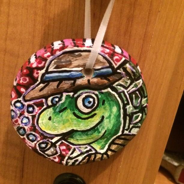 Travis Turtle Ornament