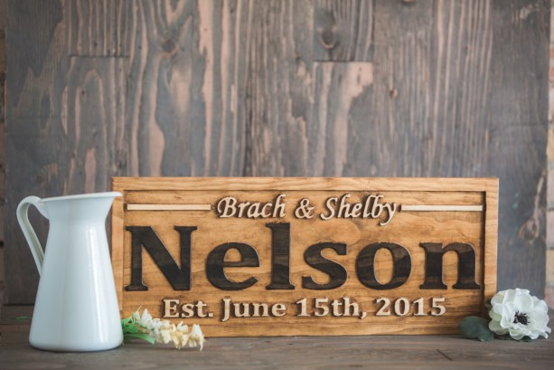 Wedding Name Sign Bridal Shower Gift Save the Date Prop Wedding Photo Prop Wedding Date Sign Wedding Prop Rustic Wedding Engagement Gift