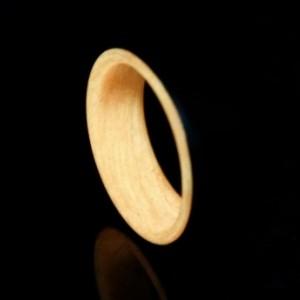 Carbon Fiber Orange Glow Ring