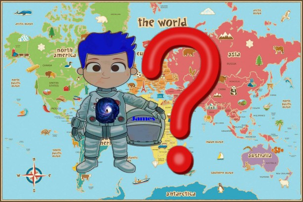 Where in the World is James Gemini - A Children's Escape My Reality Home Edition Game