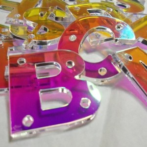 snapback letters,holographic,,laser cut letters,initial letters,name plates