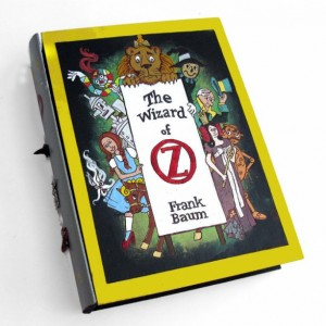 Wizard of Oz 2.0 hideaway book box- unique and hand decorated.