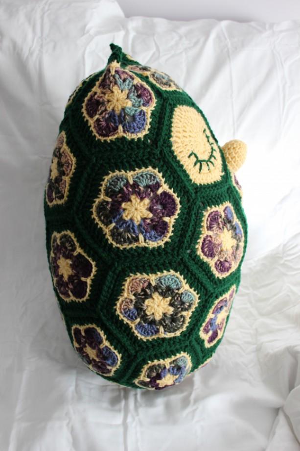 Crochet Owl Stuffed Animal African Flower Owl Nursery