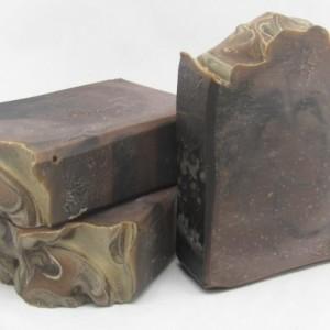 Black Amber & Lavender Goat Milk Soap
