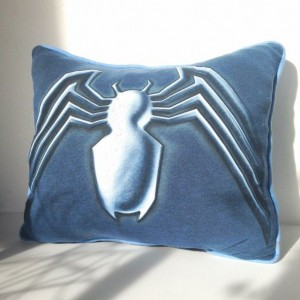 Venom T-shirt pillow