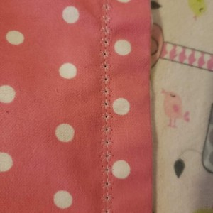 Handmade Girls Naptime Blanket. Personalized