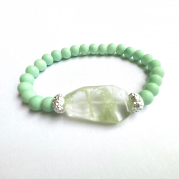 Mint Stone Bracelet
