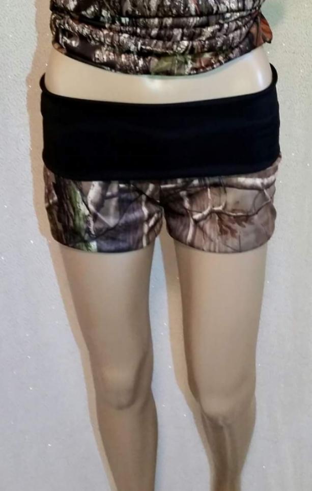Handmade Camouflage Shorts