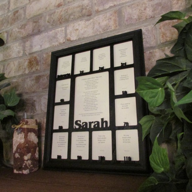 School Years Days Picture Frame With Name Graduation