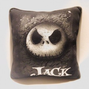 Jack the Pumpkin King T-shirt pillow