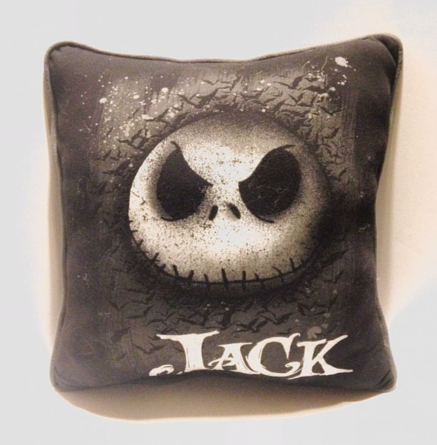 Jack the Pumpkin King T-shirt pillow