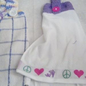 Hanging Towel Set, MisMatched