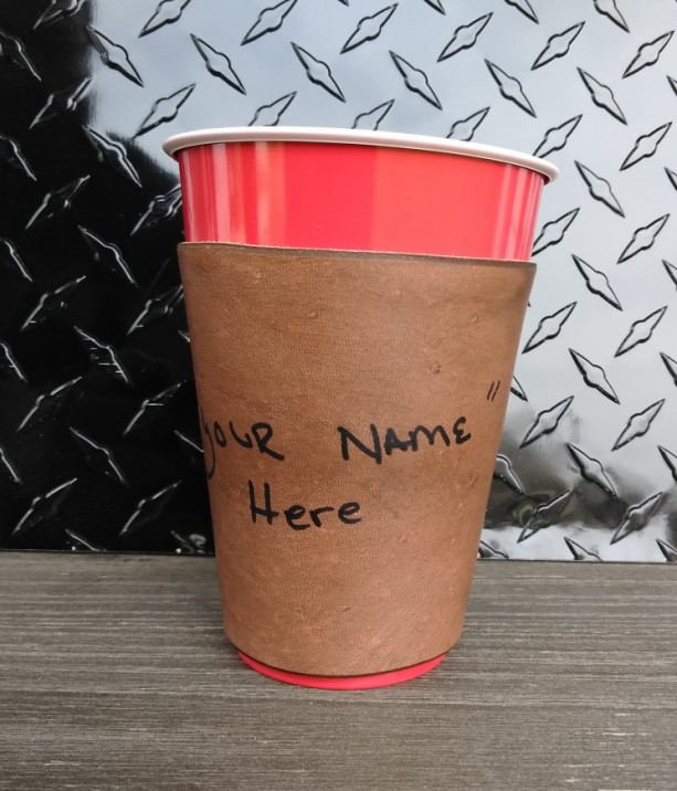 """""""Solo Cup"""" Sleeve"""