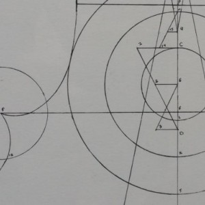 Hand Drawn Stradivarius Violin Form Using the Golden Ratio