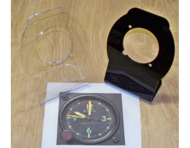 Vine A 13a Waltham Aircraft Clock 8 Day Military Pit Not Working