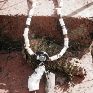 """One in the Same"" Petrified Wood Necklace"