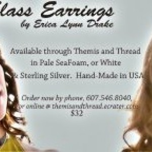 Seneca Sea Glass Earrings