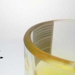 Pineapple Ciroc Bottle Upcycled Shotglasses, Set of 2