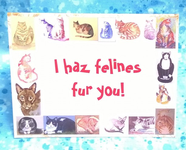 Cat Art Greeting Cards