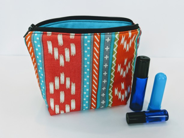 Bohemian Essential Oil Bag, Roller Ball Bag, Essential Oil Pouch, Essential Oil Case, Essential Oil Storage