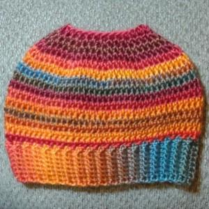 Messy Bun/Ponytail Hat