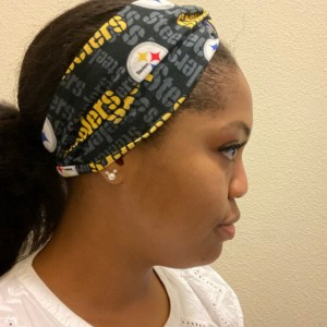 Steelers Twisted Headband/Turban