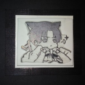 Handmade rubber stamps / Attack on Titan / Levi Ackerman