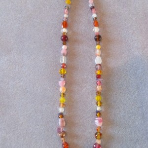 Potpourri Beaded Necklace
