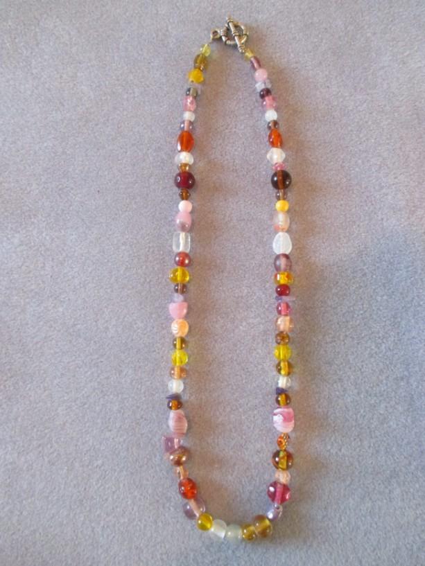 Potpourri Beaded Necklace