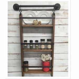Wood Kitchen shelf, kitchen shelves, kitchen wall shelf, shelving unit, kitchen shelving, kitchen wall shelves