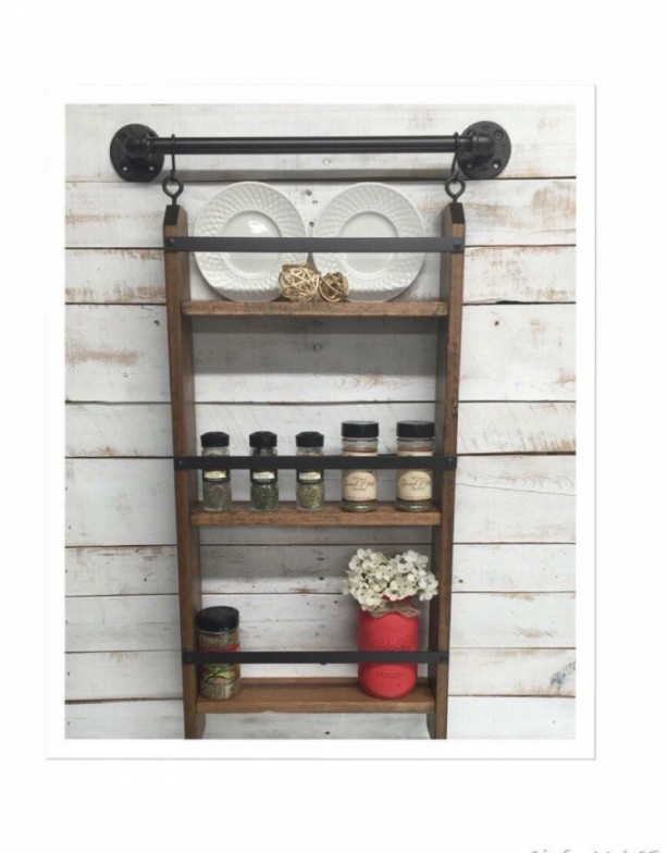 Wood Kitchen Shelf Kitchen Shelves Kitchen Wall Shelf Shelving Aftcra