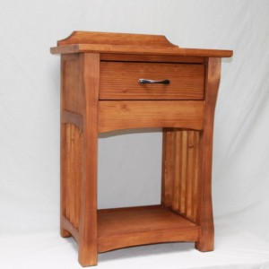 Bedside Nightstand with hidden compartment