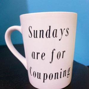 Couponing coffee mug!