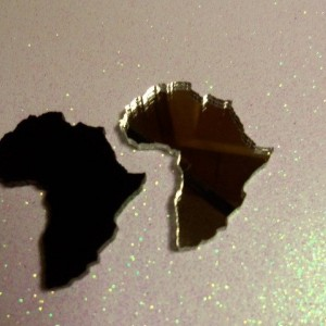 Africa charm, Africa,laser cut charms