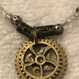 Geared for Success handmade beaded bracelet