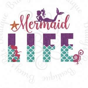 Youth Mermaid Life Raglan Tee