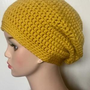 Slouchy Beanie, Slouchy Beanie Women, Slouchy Hat, Crochet Beanie, Slouch Hat, Bohemian, Hippy, Boho, Ladies Winter Hat, Ready To Ship