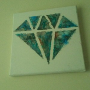 Custom 12x12 Diamond